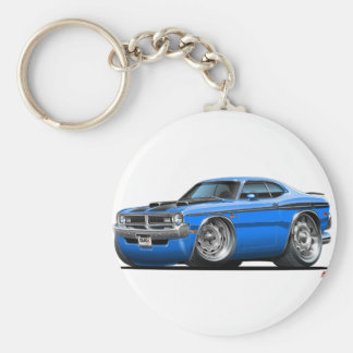 Porte-clés Voiture de bleu de démon de Dodge