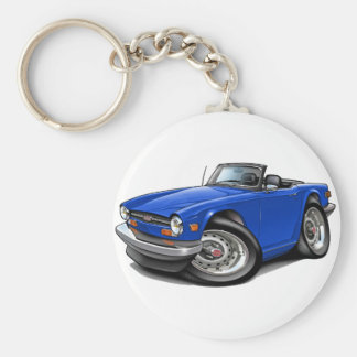 Porte-clés Voiture de bleu de Triumph TR6
