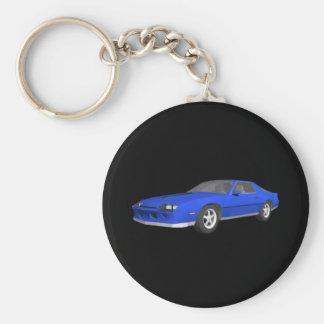 Porte-clés voiture de sport de 80s Camaro : modèle 3D : Porte