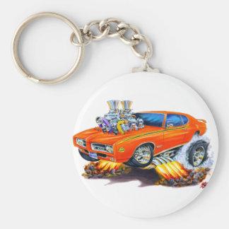 Porte-clés Voiture d'orange de juge de 1969 GTO