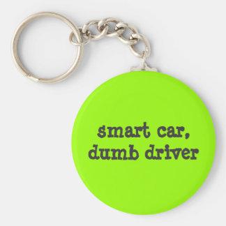 Porte-clés voiture intelligente, conducteur muet