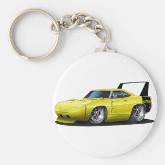 Porte-clés Voiture jaune de Dodge Daytona