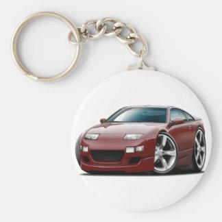 Porte-clés Voiture marron de Nissan 300ZX