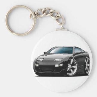 Porte-clés Voiture noire de Nissan 300ZX