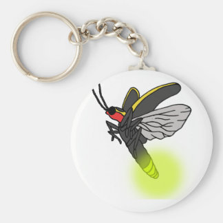 Porte-clés vol 2 d'insecte de foudre allumé