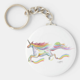 Porte-clés Voler de poney de cheval de Pegasus de licorne