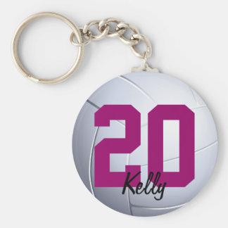 Porte-clés Volleybal folâtre le porte - clé