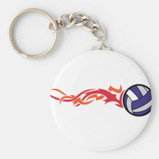 Porte-clés Volleyball flamboyant