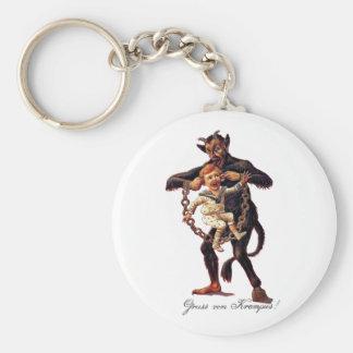 Porte-clés Vom de Gruss (salutations de) Krampus