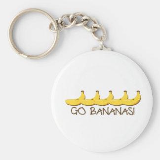Porte-clés Vont les bananes !
