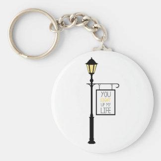 Porte-clés Vous allumez ma vie