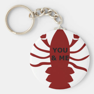 Porte-clés Vous et moi êtes des homards