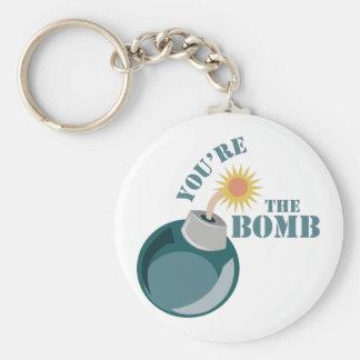 Porte-clés Vous êtes la bombe