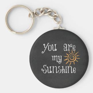 Porte-clés Vous êtes mon soleil