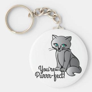 Porte-clés Vous êtes Purrr-fect