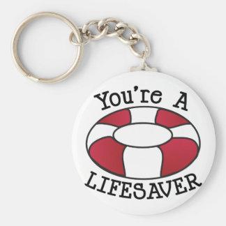 Porte-clés Vous êtes un sauveteur