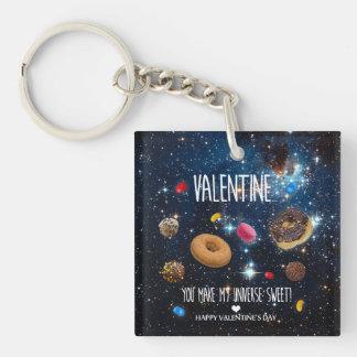 Porte-clés Vous faites mon bonbon Valentine à univers