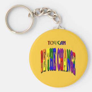 Porte-clés Vous pouvez être le porte - clé de changement