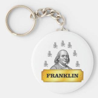 Porte-clés voûte de presse de Franklin