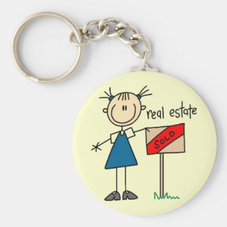 Porte-clés Vrai agent immobilier