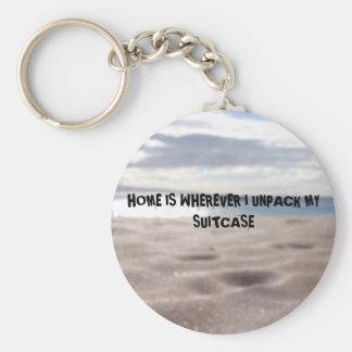 Porte-clés Vrai porte - clé de photo de plage avec la