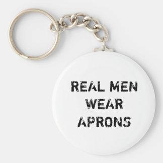Porte-clés Vrai porte - clé de tabliers de vêtements pour