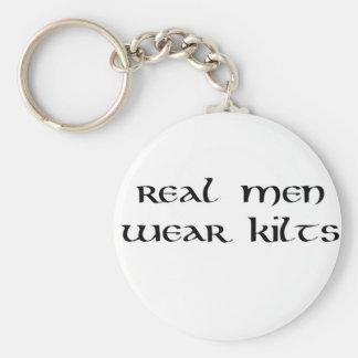 Porte-clés Vrais kilts de vêtements pour hommes