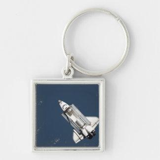 Porte-clés Vue aérienne de la découverte de navette spatiale
