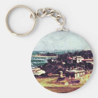 "Porte-clés ""Vue Castillo porte - clé de De de San Cristobal"""