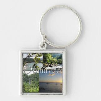 Porte-clés Vues du porte - clé d'île de nature