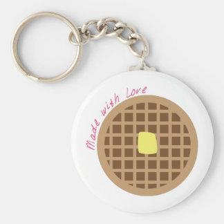 Porte-clés Waffle_Made avec amour