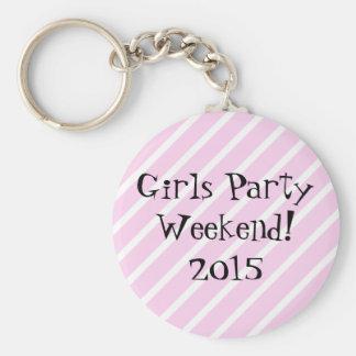Porte-clés Week-end de partie de filles