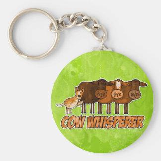 Porte-clés whisperer de vache