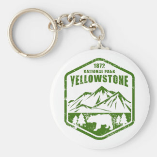 Porte-clés Yellowstone