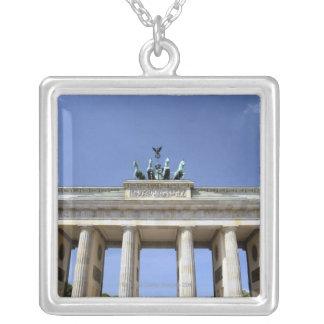 Porte de Brandebourg, Berlin, Allemagne Pendentif Carré