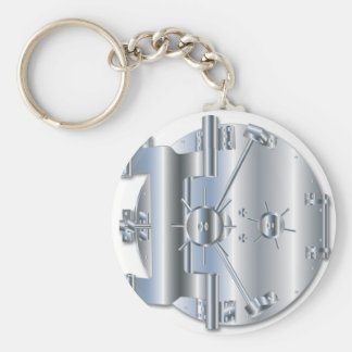 Porte de chambre forte porte-clés