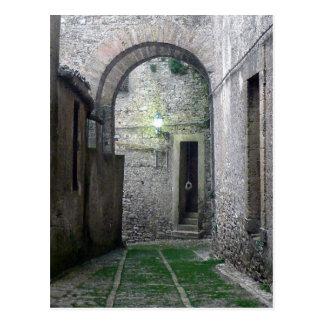 Porte en carte postale d'Erice Sicile