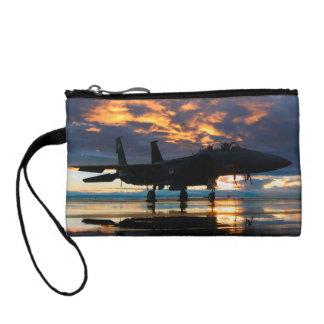 Porte-monnaie Avion d'avion de chasse aux cadeaux de militaires