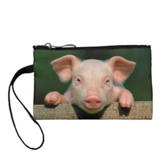 Porte-monnaie Ferme de porc - visage de porc