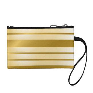 Porte-monnaie GOLD lignes horizontales