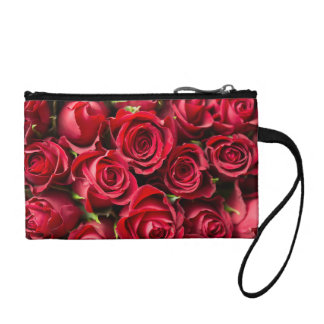 Porte-monnaie Roses rouges