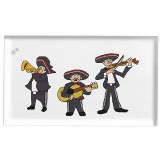 Porte-numéro De Table Le mariachi mexicain réunissent la bande dessinée