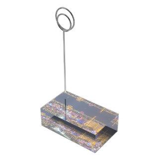 Porte-numéro De Table Porte-cartes lumineux de Tableau de lumières