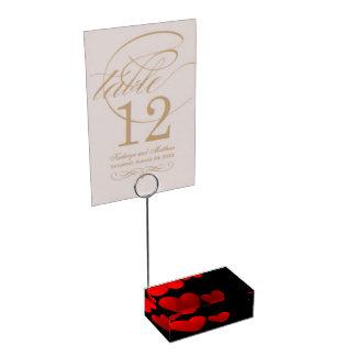 Porte-numéro De Table Saint Valentin