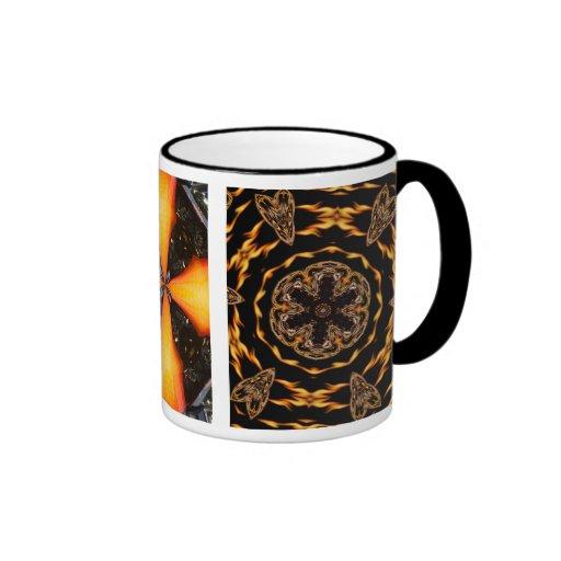 Portée triple du feu mugs