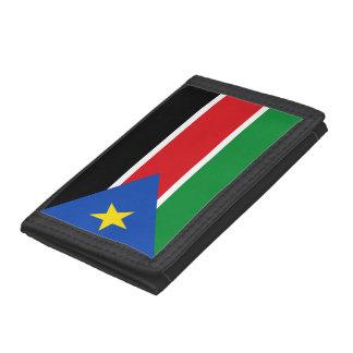 Portefeuille À 3 Volets Drapeau du sud du Soudan