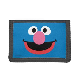 Portefeuille À 3 Volets Grover font face à l'art