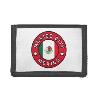 Portefeuille À 3 Volets Mexico Mexique