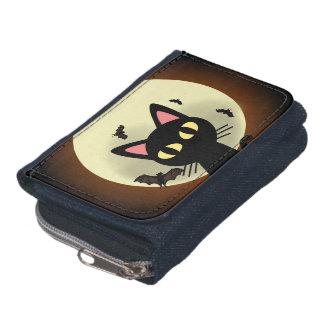 Portefeuille Chat noir et lune