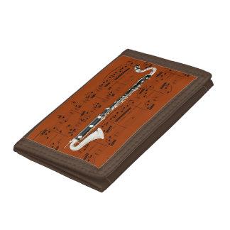 Portefeuille - clarinette basse - couleur de